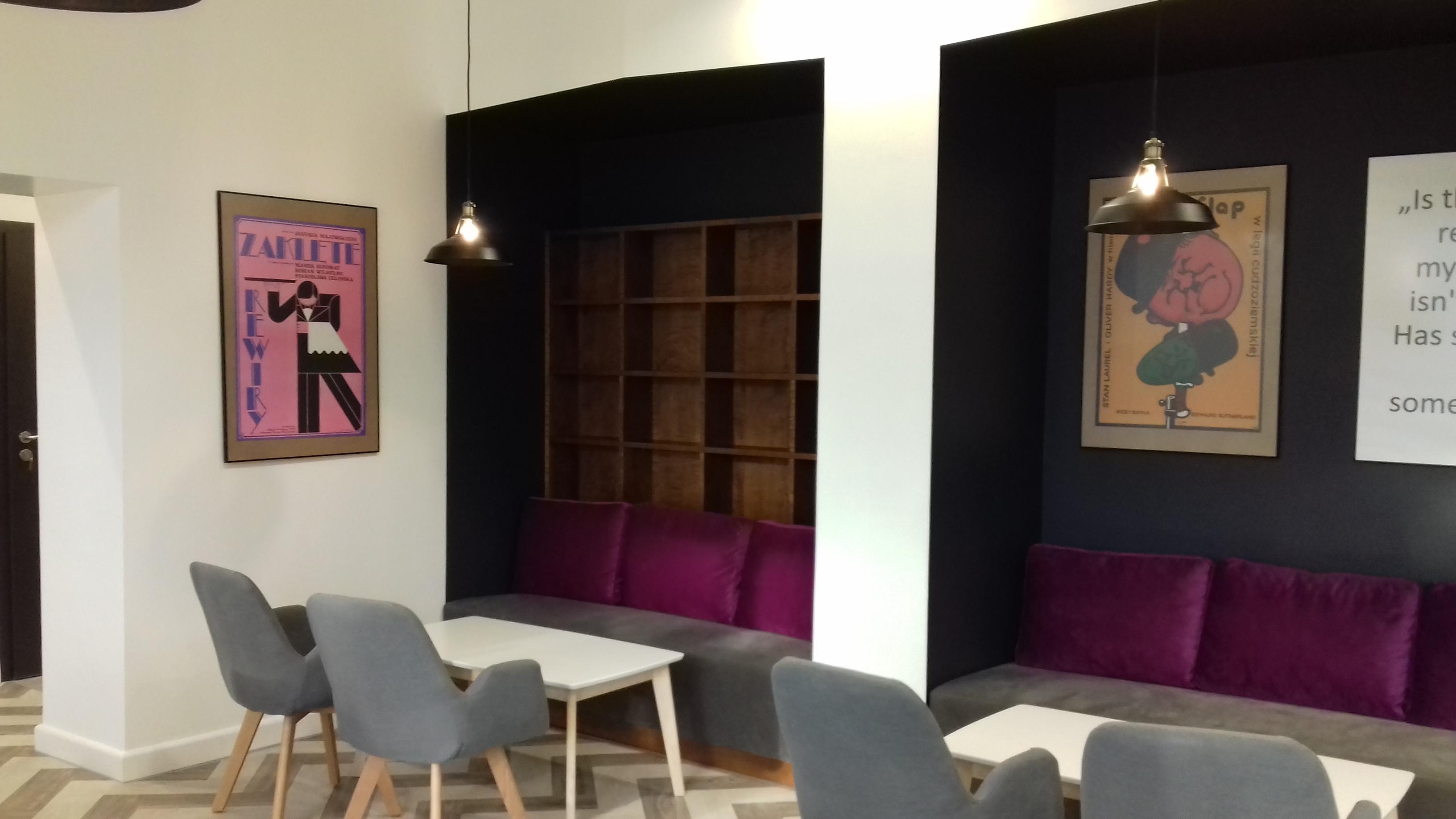 Remont kawiarni w kinie Wielkopolanin w Poznaniu